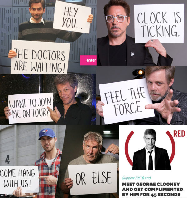 fanheart3 omaze david tennant robert downey junior luke hamill ryan gosling harrison ford george clooney
