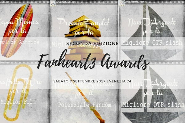 Fanheart3 Awards Venezia 74