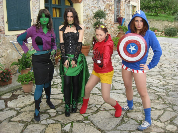 marvel cinematic universe cosplayers