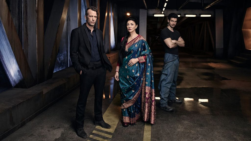The Expanse: Josephus Miller (Thomas Jane), Chrisjen Avasarala (Shohreh Aghdashloo) e James Holden (Steven Strait)
