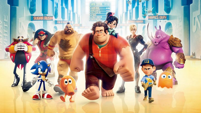 fanheart3 wreck it ralph