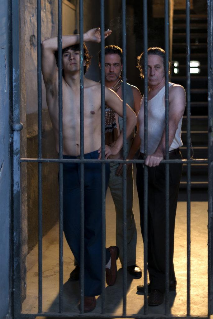 fanheart3 El Príncipe actors Juan Carlos Maldonado Gaston Pauls and Alfredo Castro