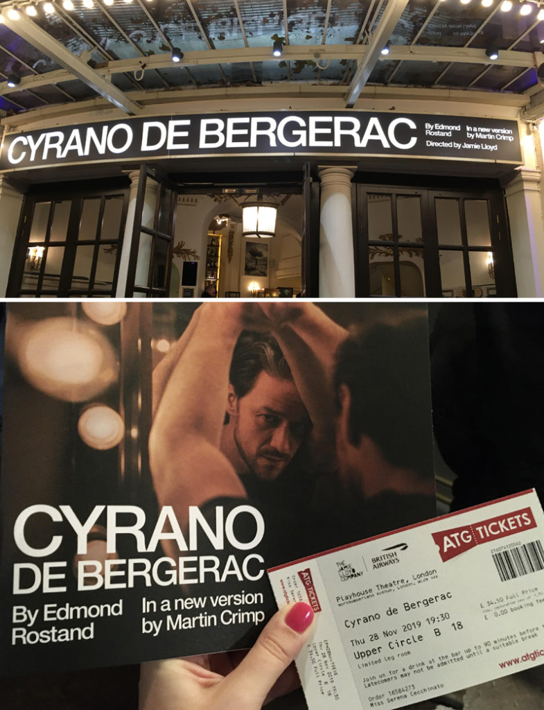 fanheart3 cyrano de bergerac james mcavoy ticket