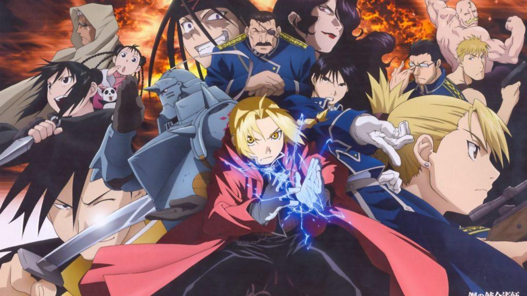 anime fullmetal alchemist