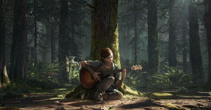 ellie chitarra the last of us parte 2
